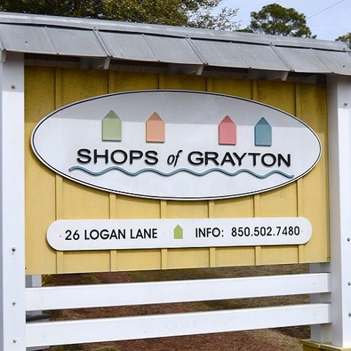 Shops of Grayton logo.