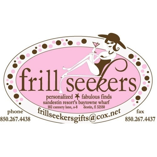 Frill Seekers Gifts logo.