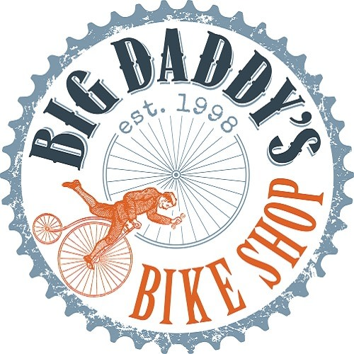 Big Daddy's Bike Shop logo.