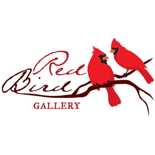 Red Bird Gallery logo.