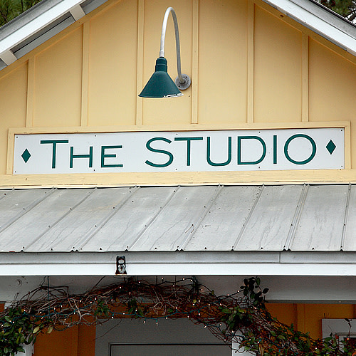 The Studio Gallery logo.