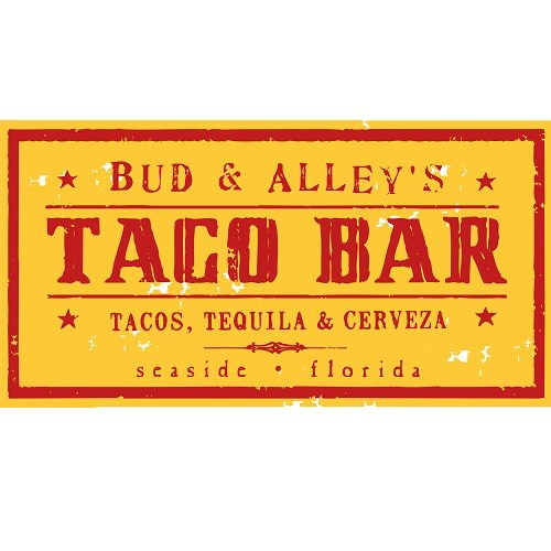 Bud & Alley's Taco Bar logo.