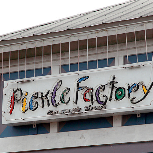 Pickle Factory logo.
