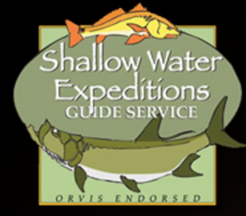Shallow Water Expeditions Guide Service logo.