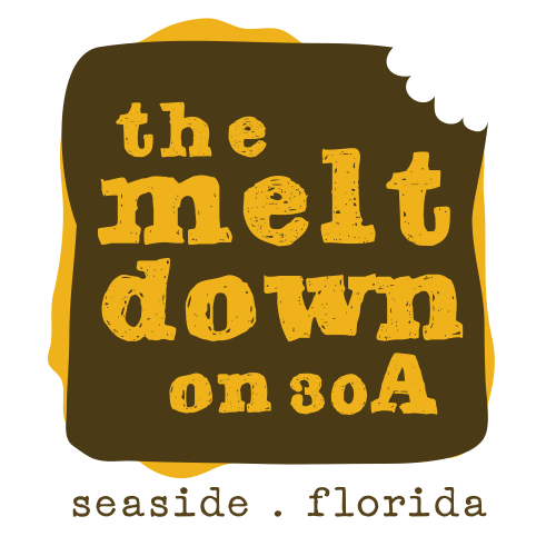 The MeltDown on 30A logo.