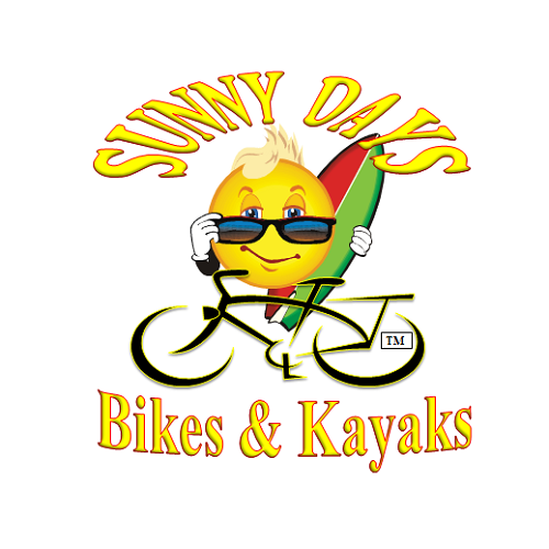 Sunny Days Bike & Beach Sports logo.