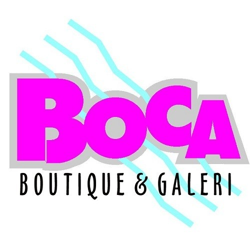 Boca Boutique & Galeri - WaterColor logo.
