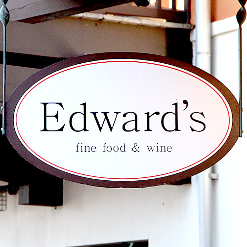 Edward's Fine Food & Wine logo.