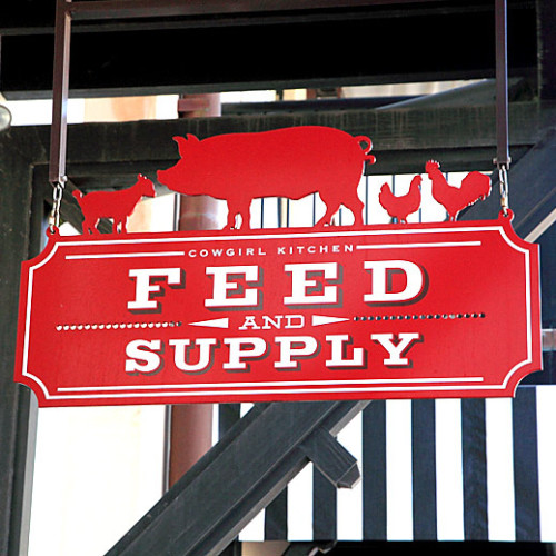 CK Feed & Supply logo.