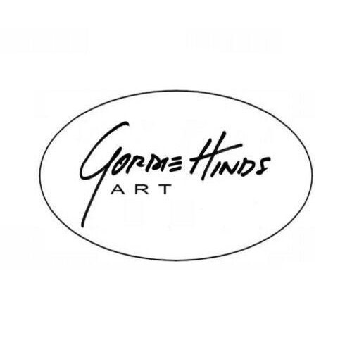Gordie Hinds Contemporary Art logo.