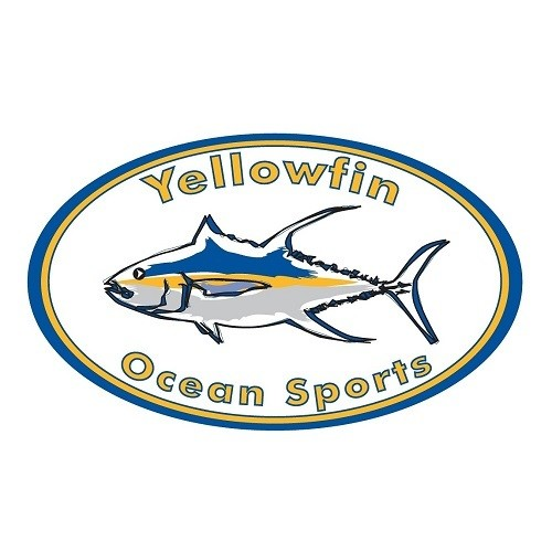 Yellowfin Ocean Sports logo.