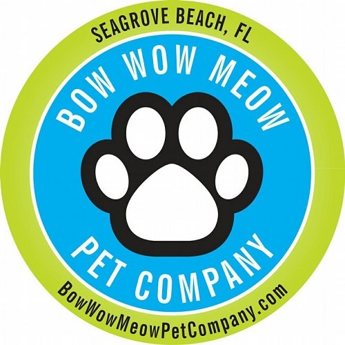 Bow Wow Meow Pet Company logo.