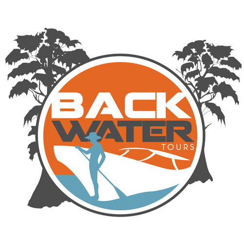 Backwater Tours logo.