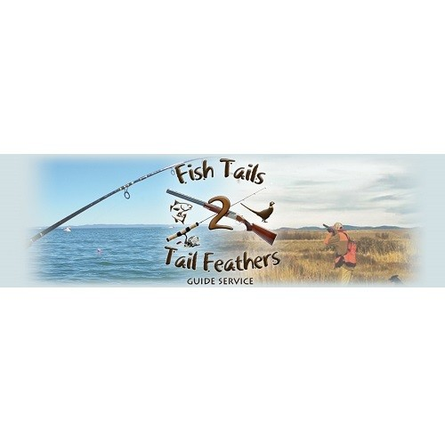 Fish Tails 2 Tail Feathers logo.