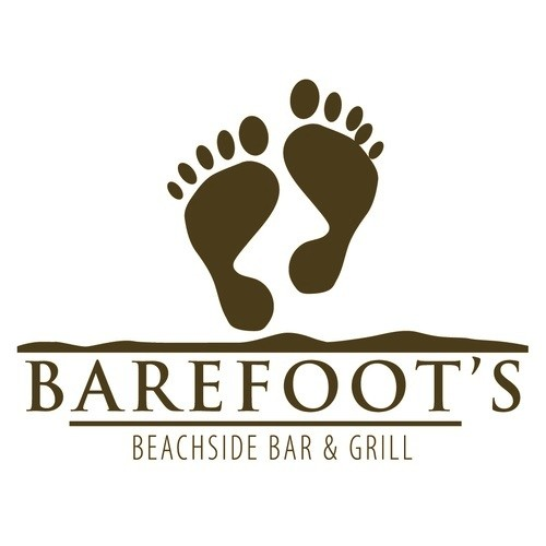 Barefoot's Beachside Bar & Grill logo.