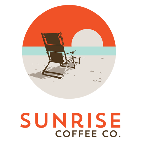 Sunrise Coffee Co. logo.