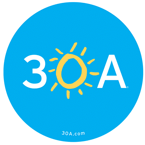 The 30A Store - Gulf Place logo.