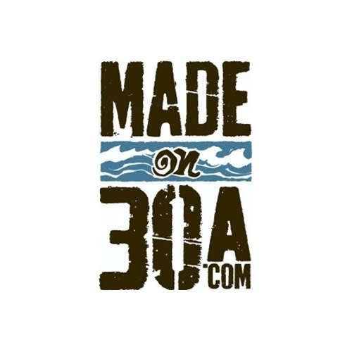 Made on 30A logo.