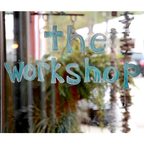 Ginger Leigh Designs - The Workshop logo.