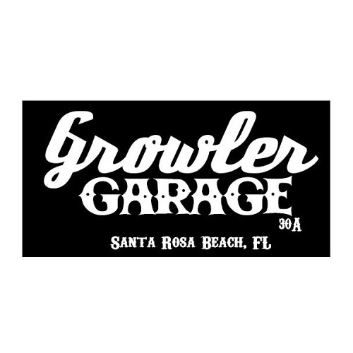 Growler Garage logo.