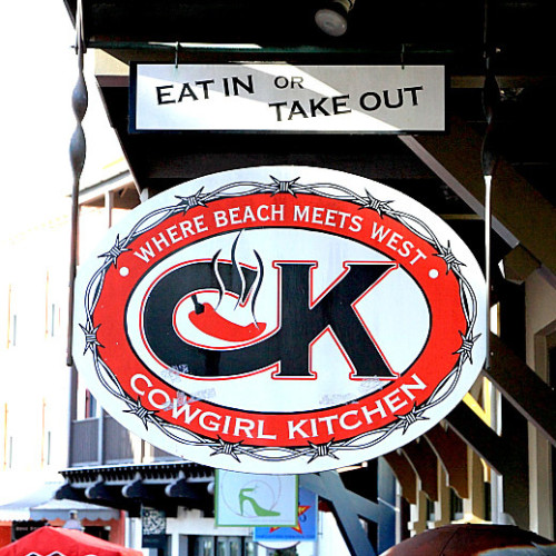 Cowgirl Kitchen Restaurant & Bar logo.
