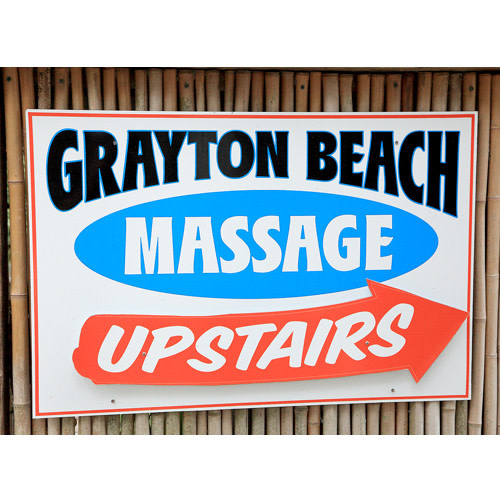 Grayton Beach Massage logo.