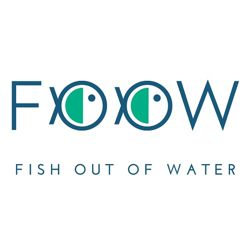 FOOW - Fish Out of Water logo.