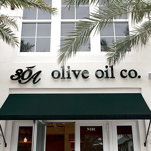 30A Olive Oil Co. logo.
