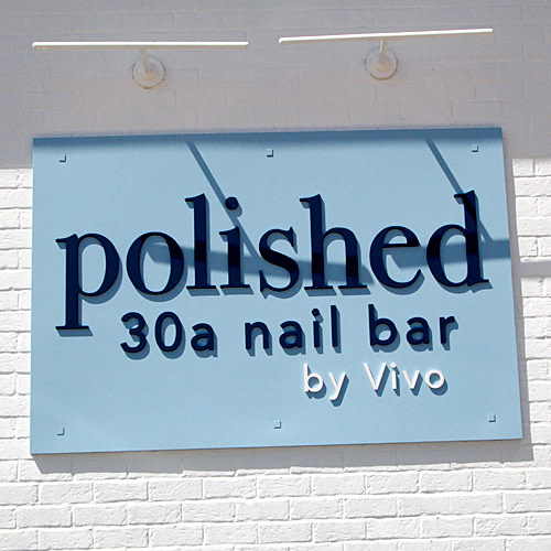 Polished 30A Nail Bar logo.