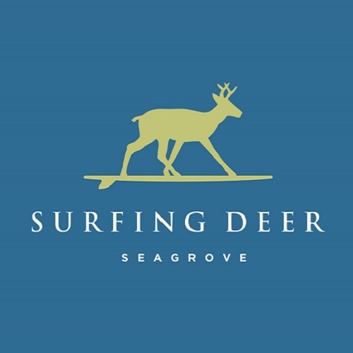 Surfing Deer logo.