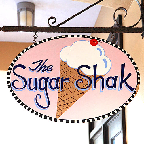 The Sugar Shak logo.