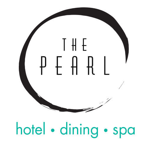 The Pearl Hotel logo.