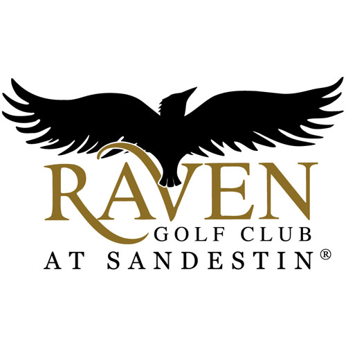 Raven Golf Club logo.