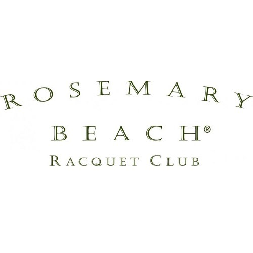 Rosemary Beach Racquet Club logo.