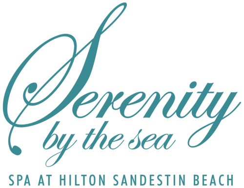 Serenity by the sea Spa logo.