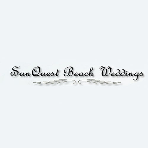 SunQuest Beach Weddings logo.