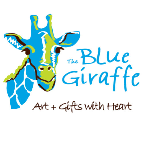 The Blue Giraffe logo.