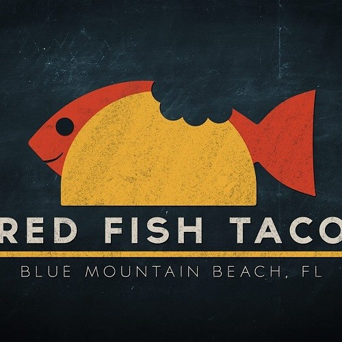 Red Fish Taco logo.