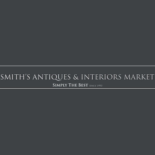 Smith's Antiques Mall and Interiors Market logo.