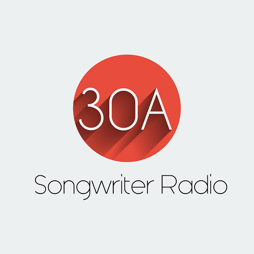 30A Songwriter Radio Music & Coffee logo.