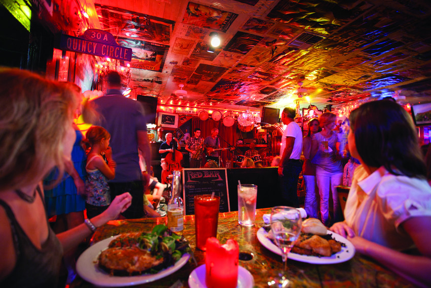 The Red Bar in Grayton Beach