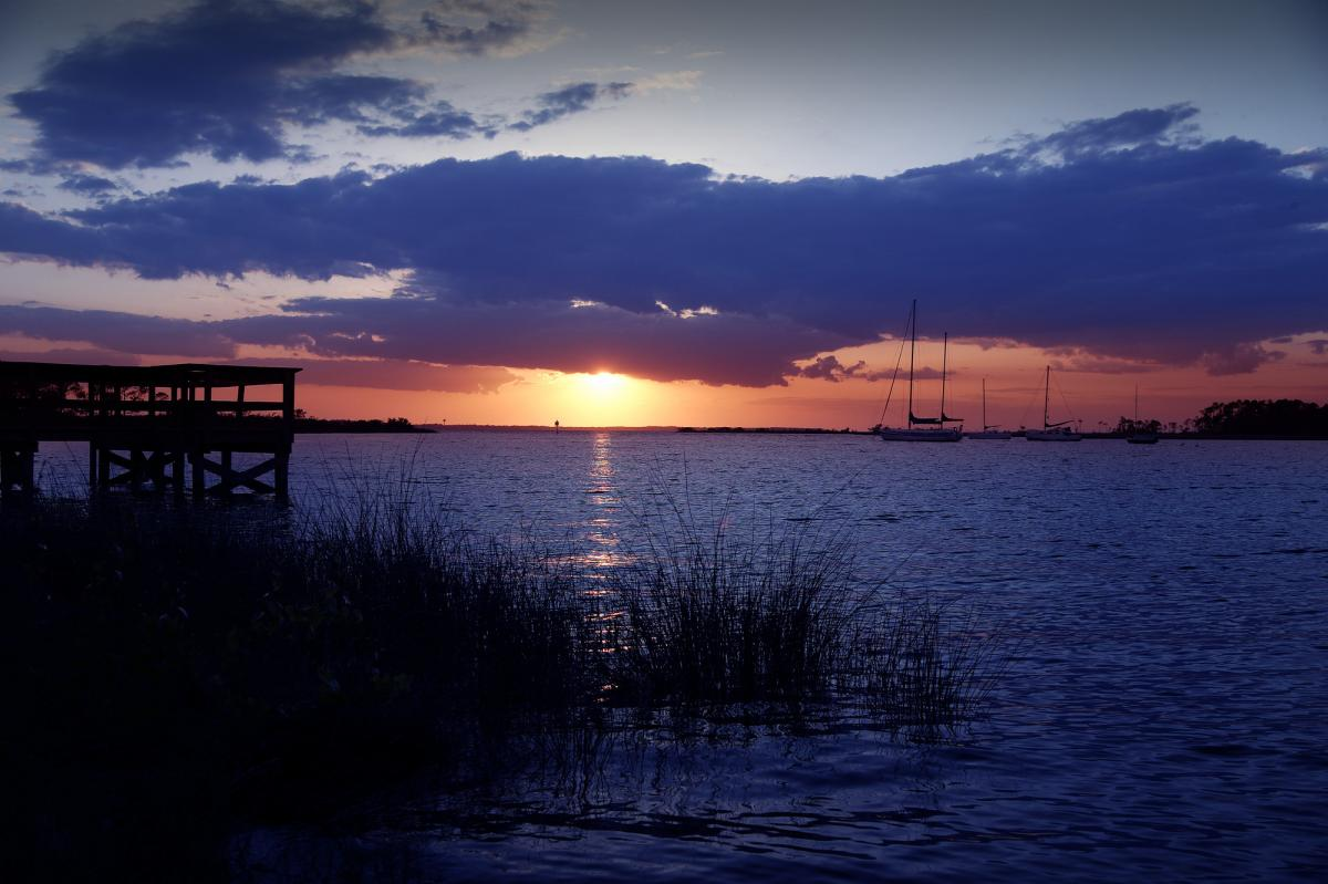 Sunset on the Choctawhatchee Bay