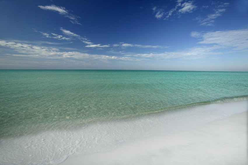 Turquoise Gulf Water in South Walton