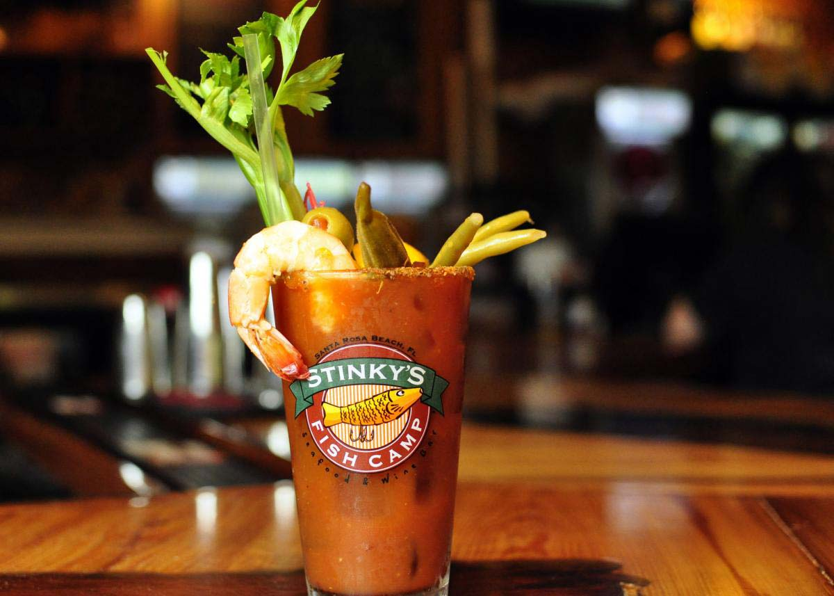 Stinky's Fish Camp Bloody Mary